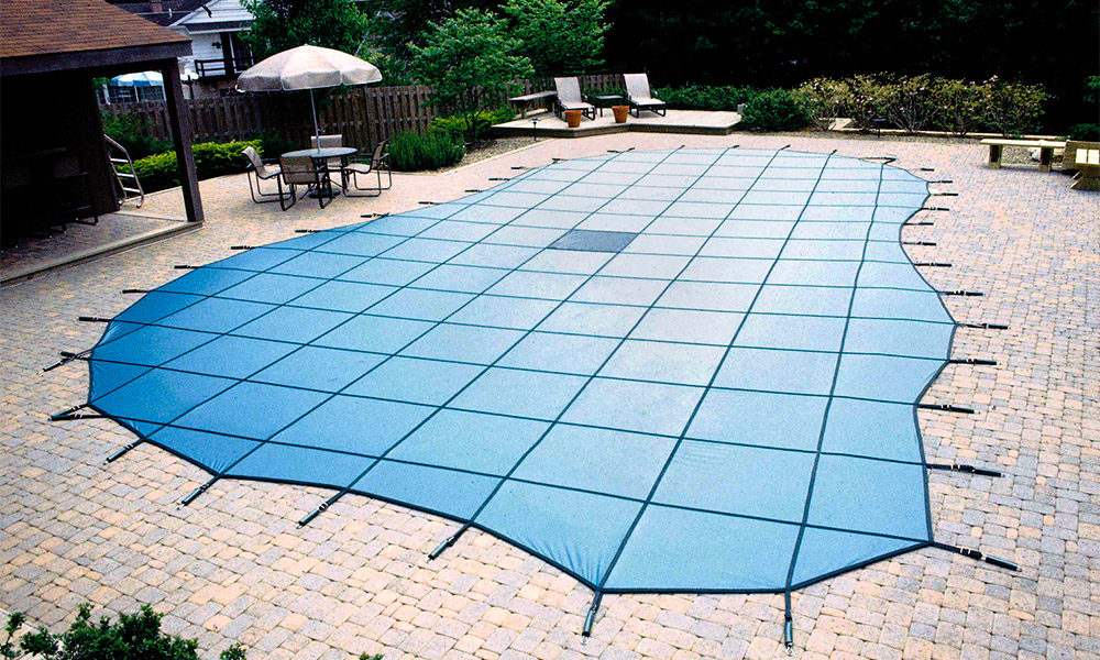 Cover your pool when you won't be using it for a few days