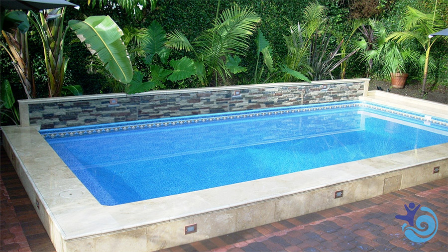 Sun2Solar Blue rectangle pool cover