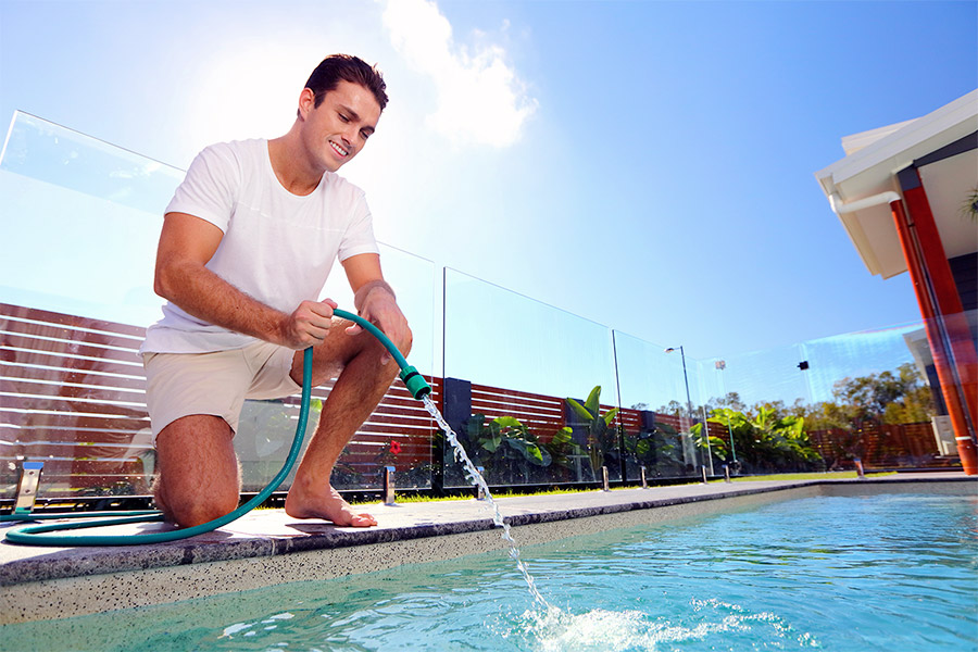 √ Filling Pool Water - How to Guide - Pool Supplies Hero