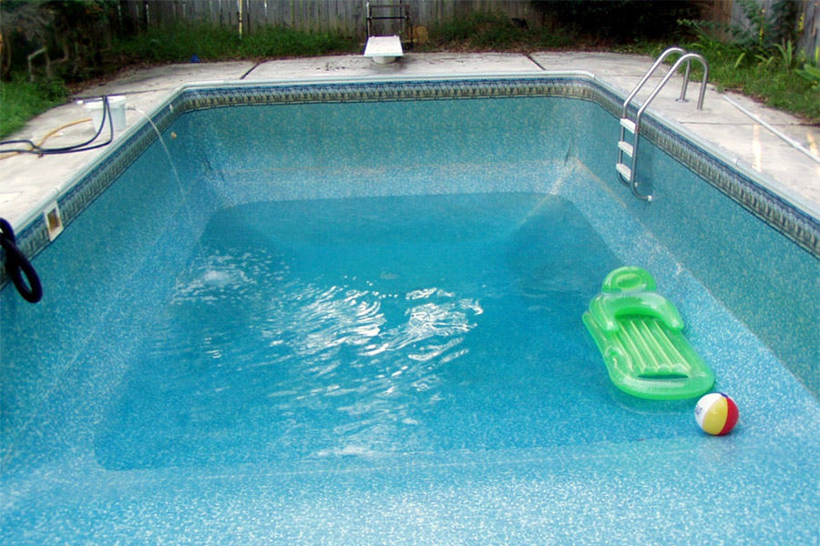 You need to drain your pool water regularly
